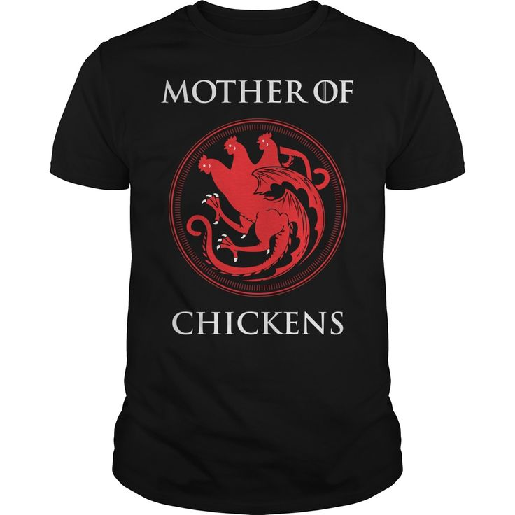 Mother of chickens. Funny, Cute and Clever Chicken Sayings, Quotes, T-Shirts for Sale, Buy Hoodies, Tees, Coffee Mugs, Hats, Clothing, Gifts. #chickens