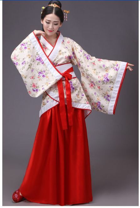 76acc5737 Chinese Han Dynasty Ruqun Hanfu Suit Cosplay Women Long Sleeve Dress Costume  Hot#Ruqun#Hanfu#Suit