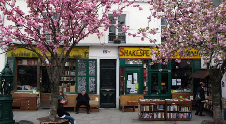 a livraria Shakespeare and Company - Expresso Paris