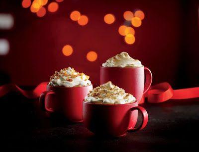 Starbucks  2016 Holiday Drink Menu ...  Caramel Brulee Latte,  Chestnut Praline Latte,   Eggnog Latte ,   Gingerbread Latte, Peppermint Mocha  &  Skinny Peppermint Mocha