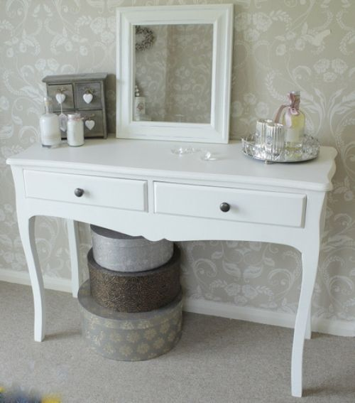 Fraser Range - White Dressing Table Made from solid wood & fully assembled…