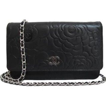 Chanel Looks New - Camellia Wallet On Chain Woc Black Cross Body Bag. Get the trendiest Cross Body Bag of the season! The Chanel Looks New - Camellia Wallet On Chain Woc Black Cross Body Bag is a top 10 member favorite on Tradesy. Save on yours before they are sold out!