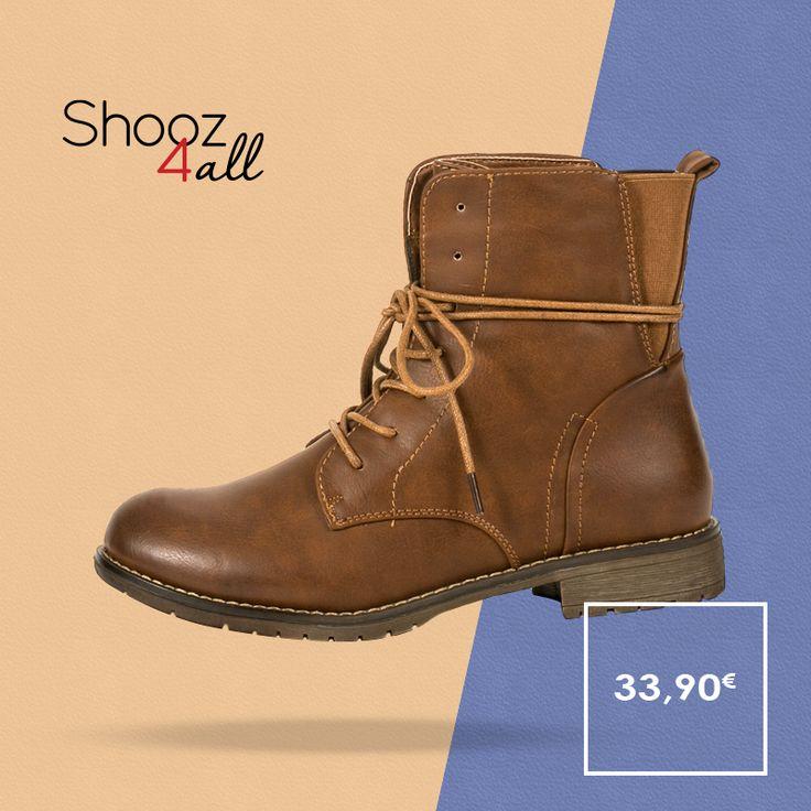 Μποτάκια αρβυλάκια από μαλακό συνθετικό δέρμα άριστης ποιότητας και εσωτερική επένδυση από ύφασμα. Γυναικεία παπούτσια που συνδυάζονται εύκολα, φοριούνται όλες τις ώρες και δημιουργούν ξεχωριστό casual look. http://www.shooz4all.com/el/gynaikeia-papoutsia/camel-gynaikeia-mpotakia-me-kordoni-101-detail #shooz4all #gynaikeia #mpotakia