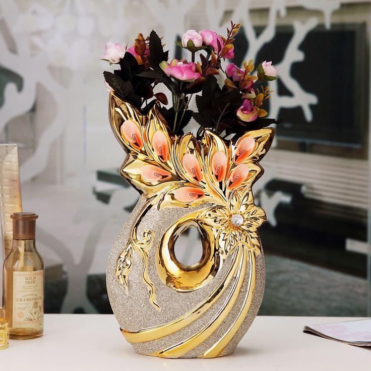 17 mejores ideas sobre decoraciones para el florero en - Jarrones decorativos para jardin ...
