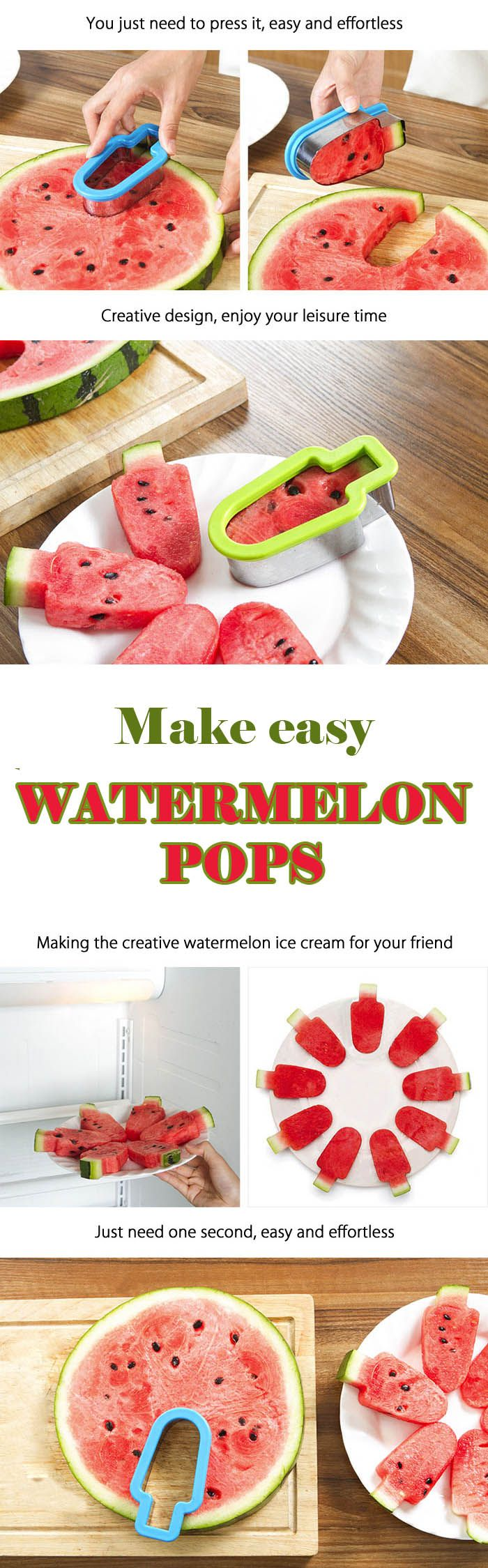 Multifunctional Watermelon Slicer - Kitchen Gadget for Fruit