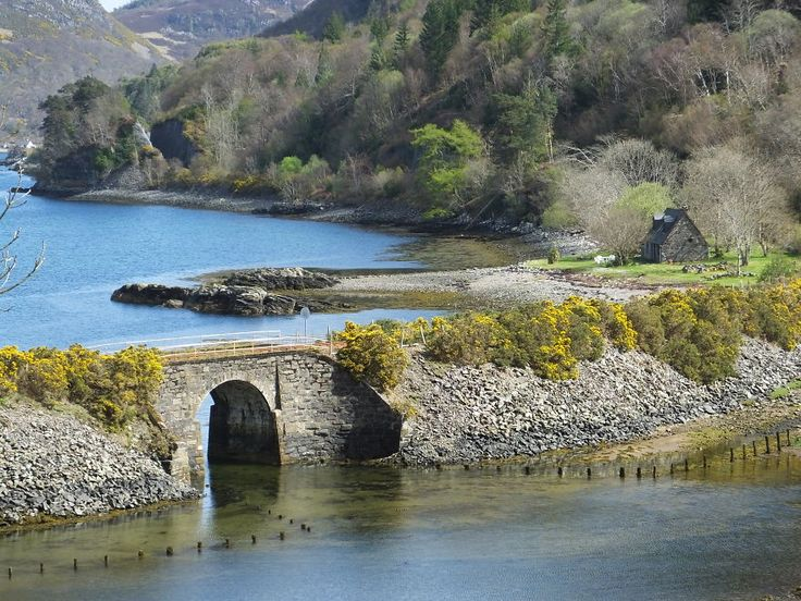 Craig Highland Farm Holiday Cottage Near Plockton, Scotland. I want to go to here...