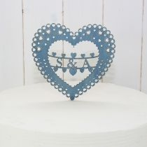 Personalised laser cut wedding cake topper - Wedding accessories