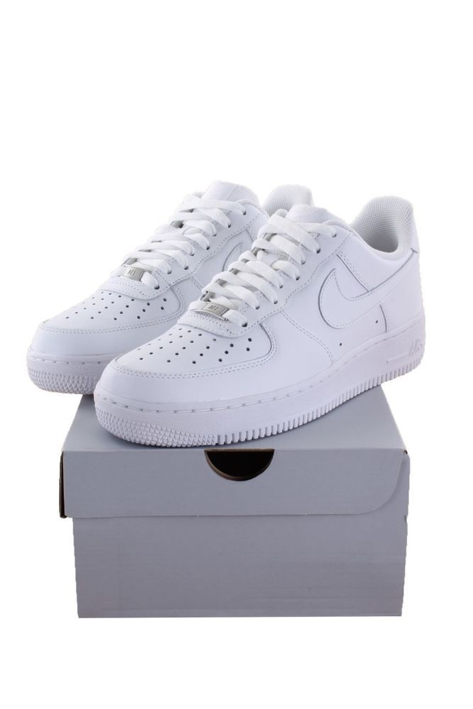 new styles 4f549 f2111 Men Nike Air Force 1 Low All White Sz 8 Shoes  fashion  clothing  shoes   accessories  mensshoes  athleticshoes (ebay link)