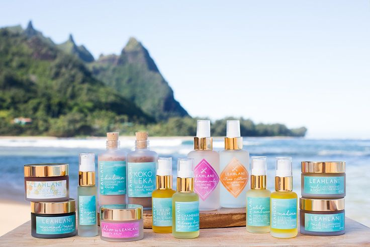 Leah Lani Skincare - Organic face masks, antiaging serums and elixirs, and tropical cleansers and exfoliators made in intimate batches in Hawaii by Leah, a Holistic Esthetician.