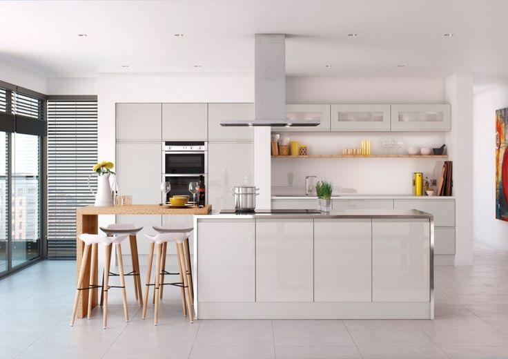 Kuvahaun tulos haulle light grey kitchen