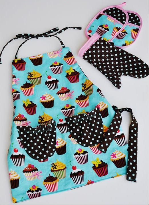 free kids apron pattern                                                                                                                                                                                 More