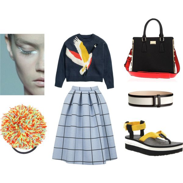 Graphic by sarahohbaby on Polyvore featuring H&M, Topshop, Teva, River Island, Graphic, oriental and geometric