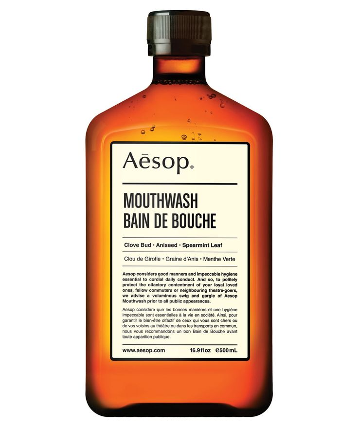Mouthwash from Aesop Liberty.co.uk #LibertyBeauty