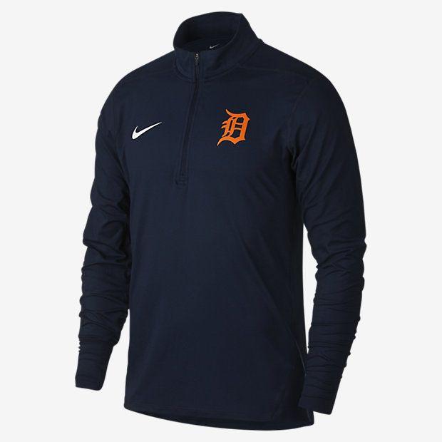 Nike Dry Element (MLB Tigers) Men's Half-Zip Running Top