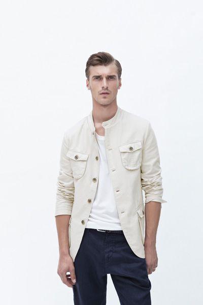 Zara Men June/2012 lookbook  Kind of in love with this jacket!!!