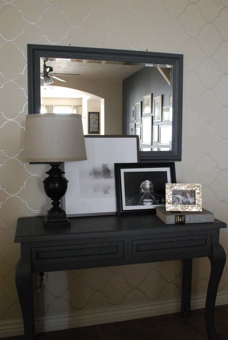The Shabby Nest: Working on the Entry Hall~