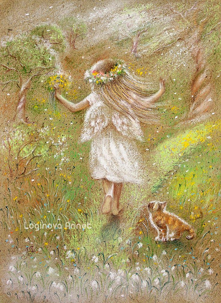 """""""Jeune printemps"""" par Annet Loginova"""