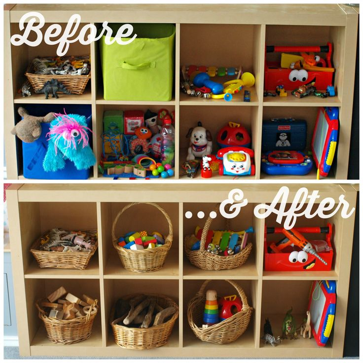 We Do Waldorf | Playroom Cull | Toy Shelf