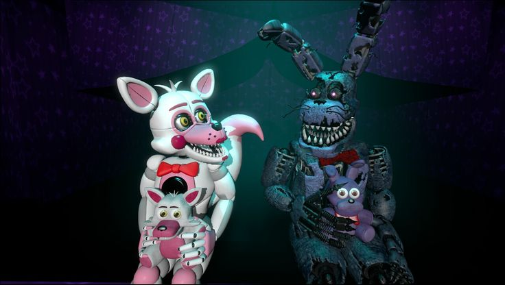 Nightmare Bonnie's SFM Request! Enjoy, Buddy!