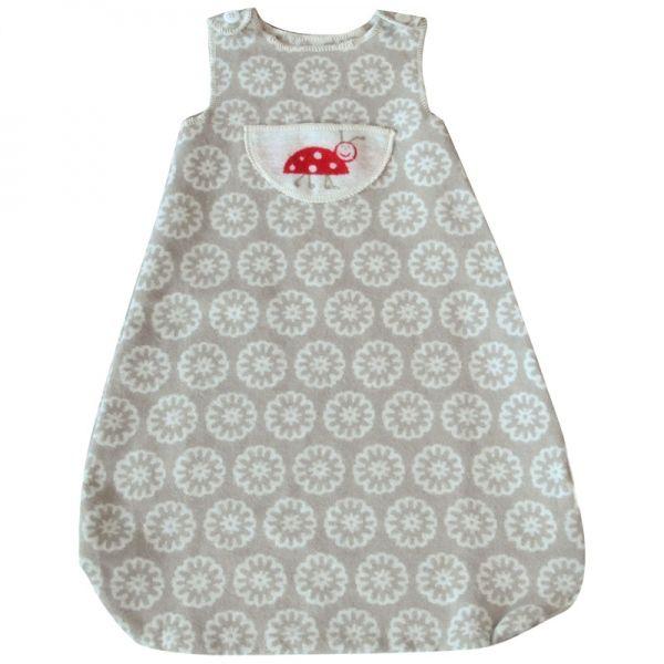 Babyschlafsack Marienkäfer sand / bis 1 Jahr - David Fussenegger #blanket #spread #quilt #cotton #baby #bedroll