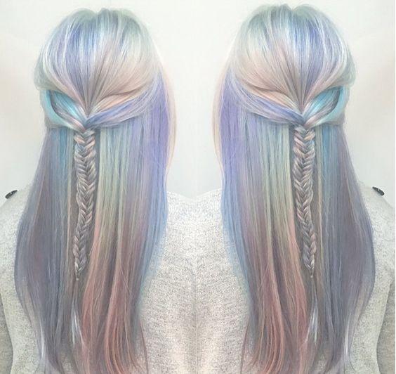 Opal Hair. The Hottest Summer Trend   ko-te.com by @evatornado