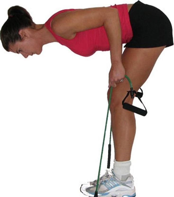 Great Mid-Back Exercises - Work Your Lats with These Creative Exercises: Bent Over Row with Bands