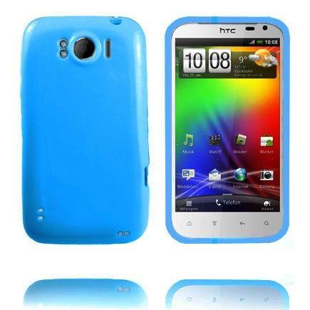 Candy Colors (Vaaleansininen) HTC Sensation XL Silikonisuojus