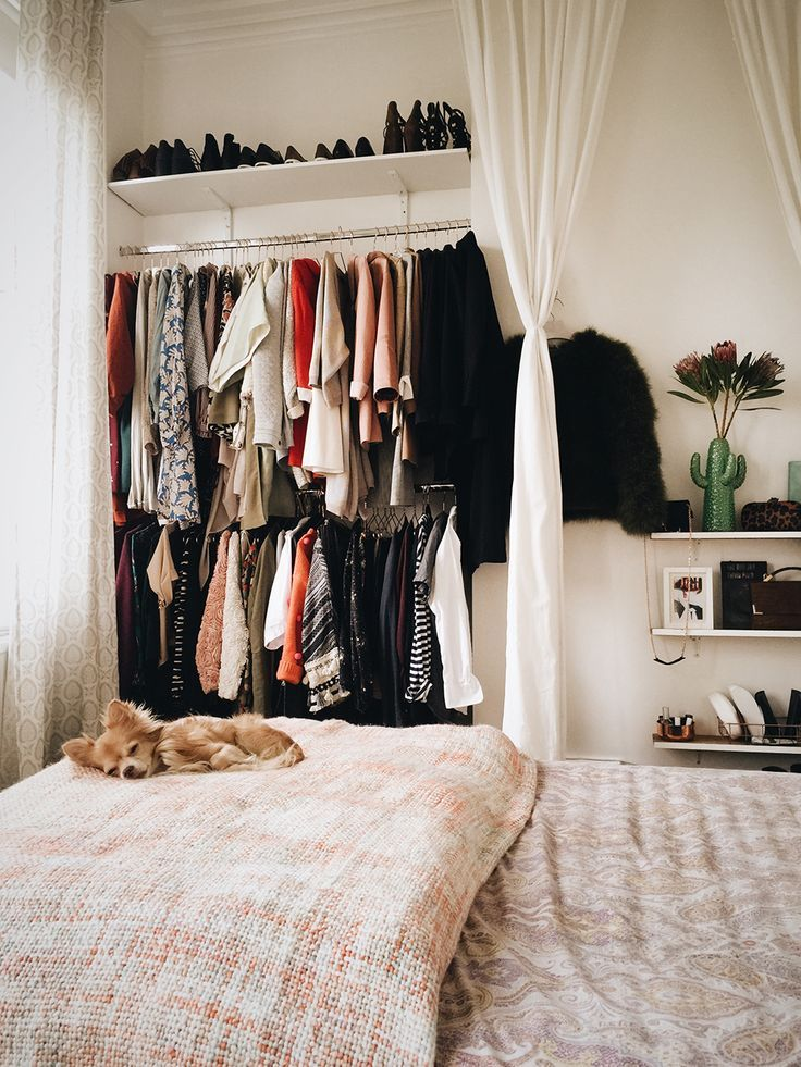 Inspirational Ein offener Kleiderschrank sieht super aus und ist ein guter Ansporn um stets ordentlich zu