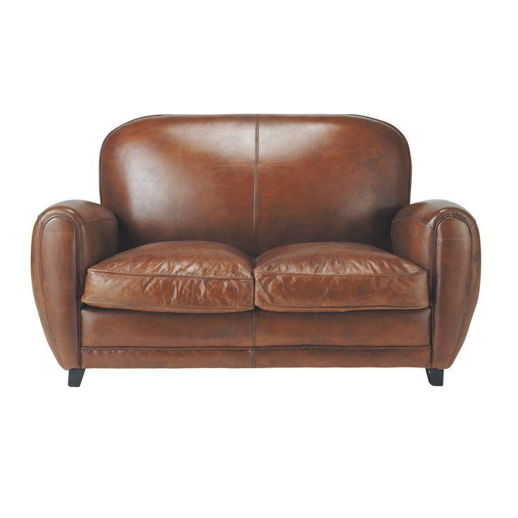Les 25 meilleures id es de la cat gorie meubles en cuir for Meuble salon marron