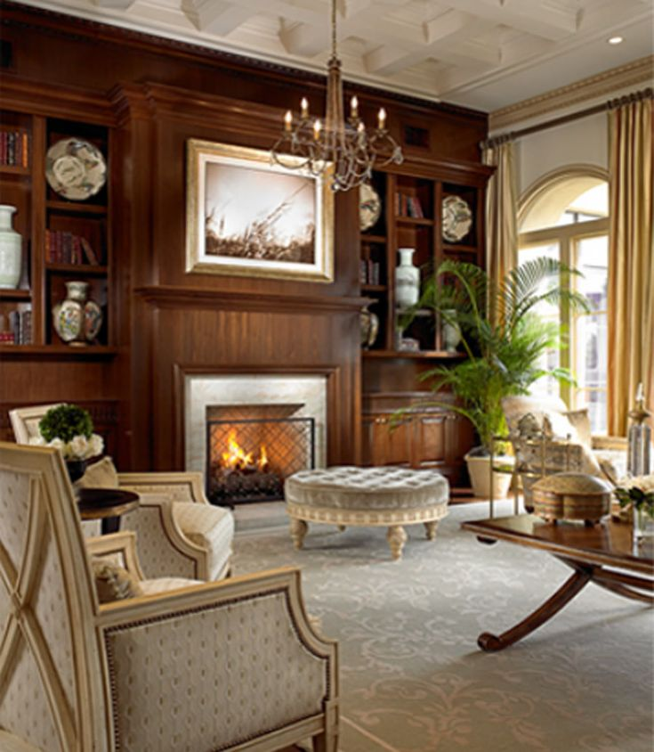 34 best classic interior design style images on pinterest for Classic traditional living rooms
