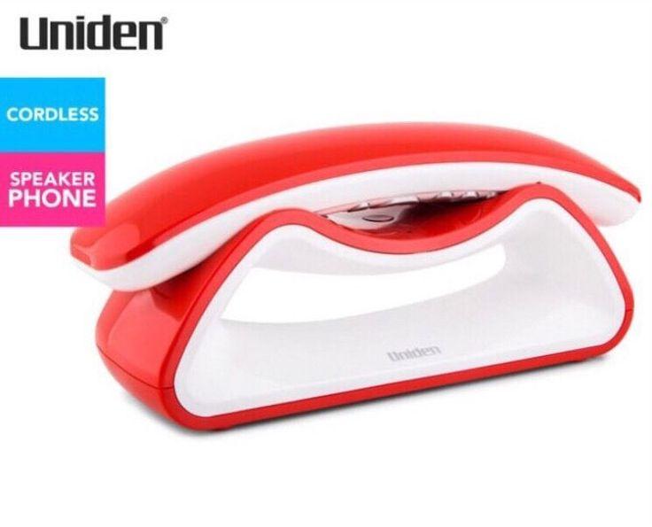Uniden Retro Style Digital Cordless Phone - Modro 20