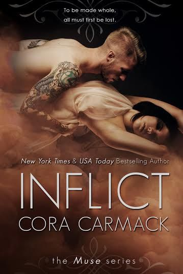 Inflict by Cora Carmack -Cover Reveal!!!