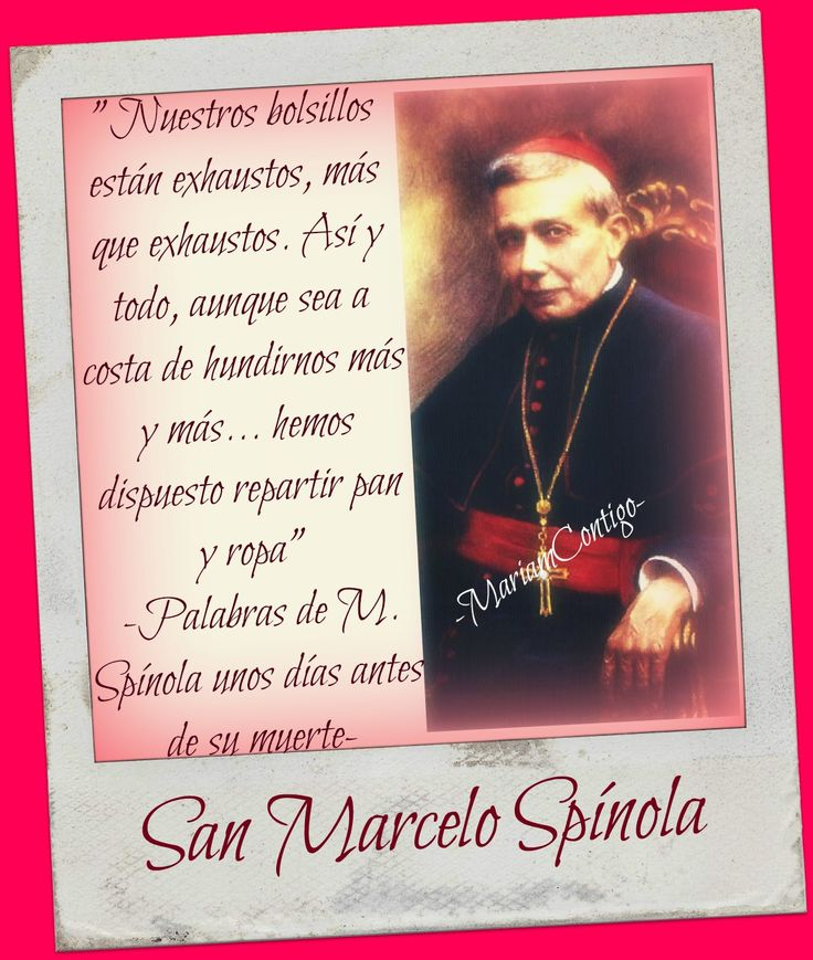 "BEATO MARCELO SPÍNOLA Y MAESTRE    "" El Arzobispo mendigo ""  San Fernando de Cádiz, España - Sevilla, España  (†1906) Obispo, Carde..."