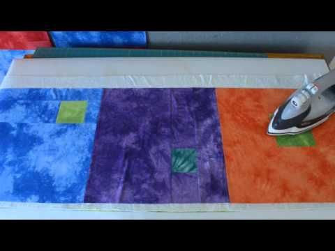 Quilt As You Go with No Sashing Part 1