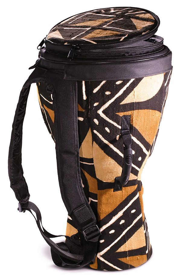 Djembe bag mudcloth African print