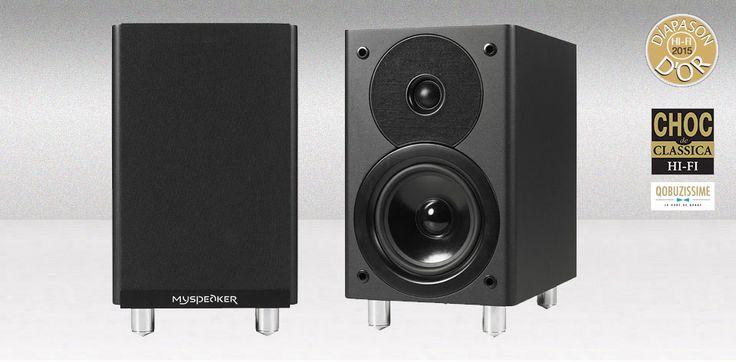 Micromega MySpeaker ( » Produkter / » Højttalere / » Kompakte højttalere / » / ) HiFi-freaks.dk -