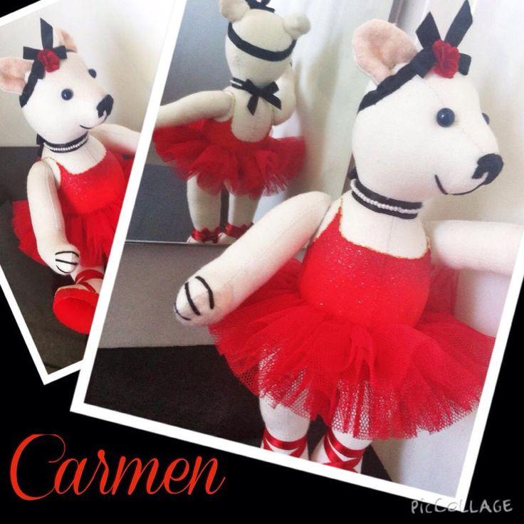 Teddy bear ballerina CARMEN