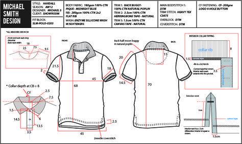 Garment Techpack in Vietnam