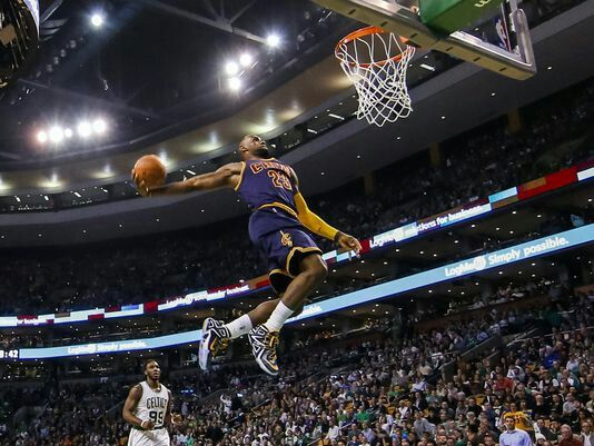 Lebron dunk!!!!