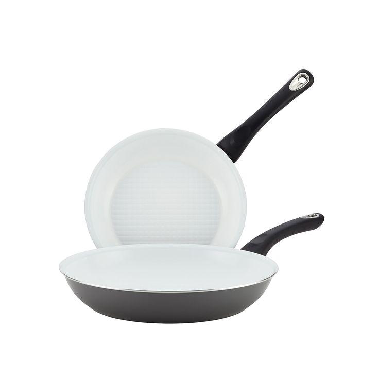 Farberware purECOok 2-pc. Nonstick Ceramic Skillet Set, Grey