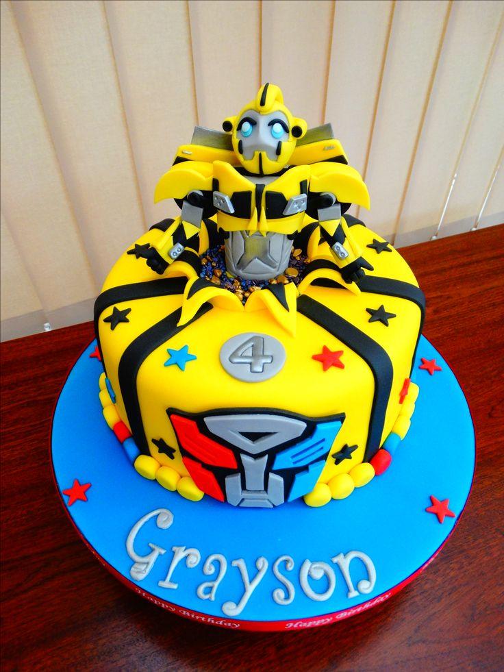 Bumblebee (Transformers) Cake xMCx Cakes Pinterest ...