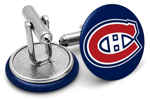 montreal canadiens cufflinks frenchcuffed - Google Search
