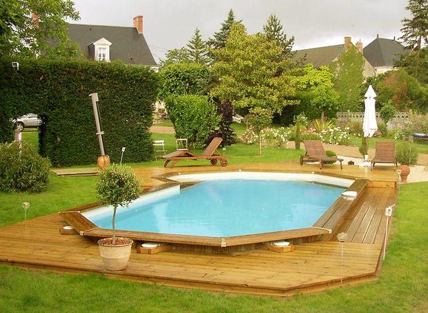 piscina lux polistiren forma deosebita