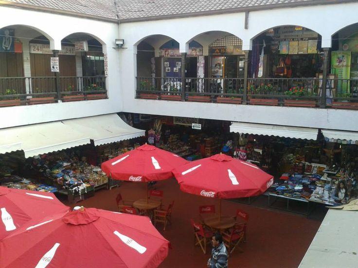 La Recova interior, Feria artesanal, La Serena - CHILE