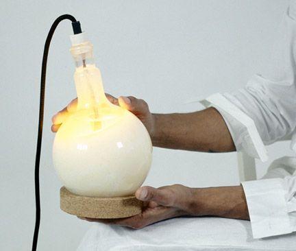huge lightbulb