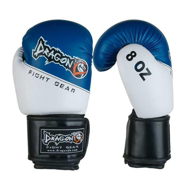 Dragon Do Youth Boxing Gloves Junior - Blue / White