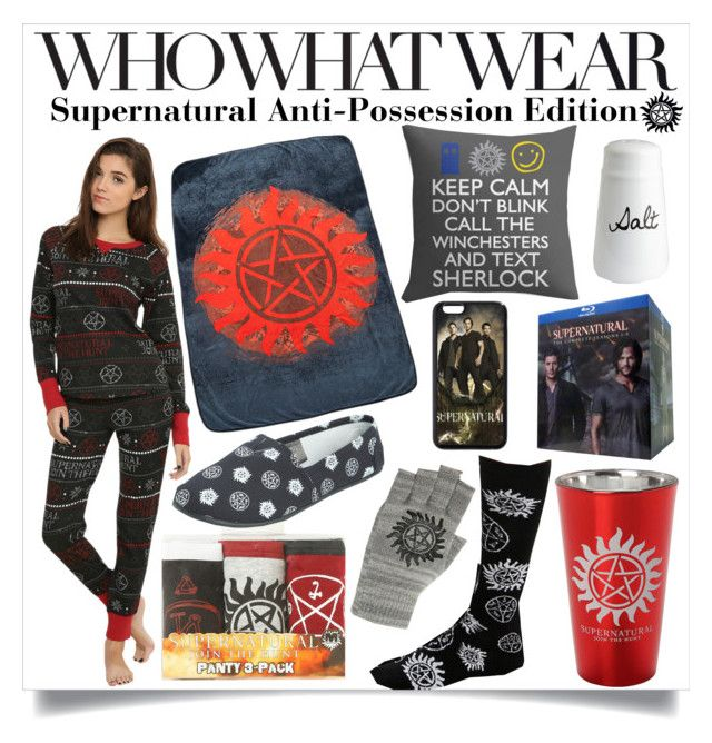 """Who What Wear: Supernatural Anti-Possession Edition"" by unwrittenlove ❤ liked on Polyvore featuring Who What Wear, Hot Topic and Pier 1 Imports"