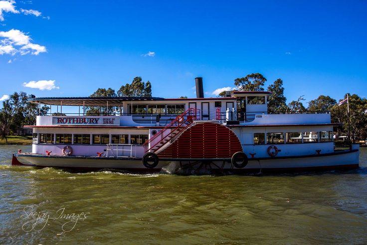 Such a lovely way to cruise the Murray River. Thanks to Chris John for sharing this image :) #Mildura #MurrayRiver