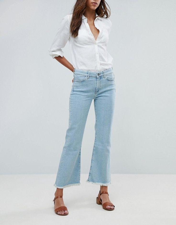 Damen jeans mit hoher taille