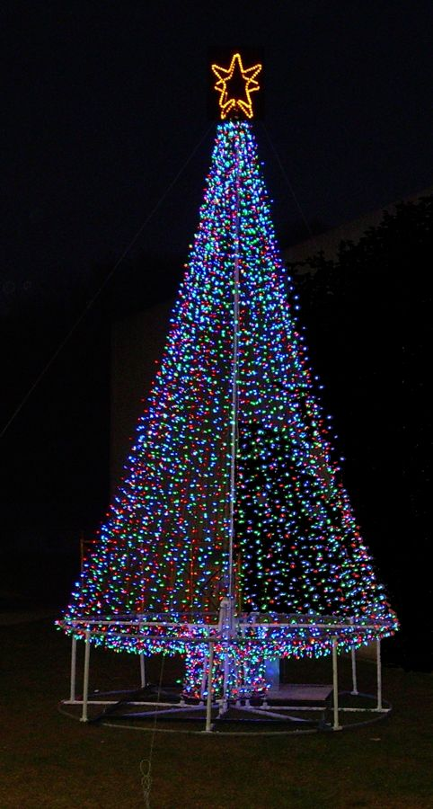 11 Best Images About Solar Powered Christmas Trees On